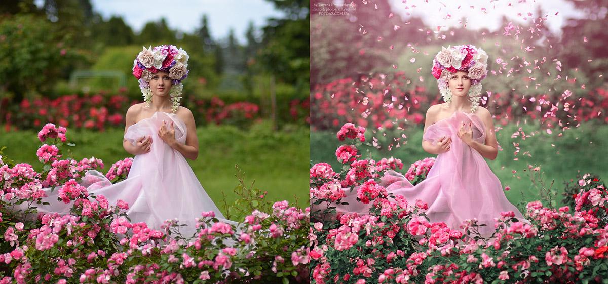 обработка в фотошопе фотографии